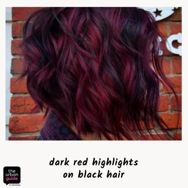 dark-red-highlights-indian-skin