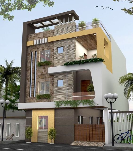 Colour Combination For House Exterior Painting: 8 Ideas