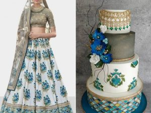 Wedding Cakes Inspired by Bridal Outfits? Yes, This is a Thing Now!