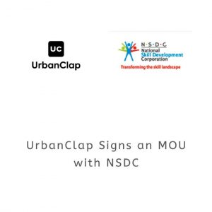 UrbanClap and NSDC enter into a partnership on World Youth Skills Day