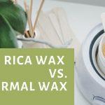 Rica Wax Vs. Normal wax