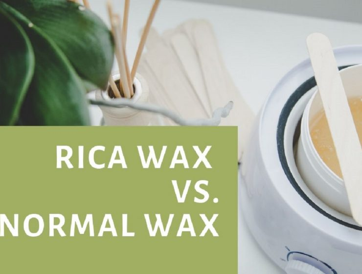 Rica Wax Vs. Normal wax