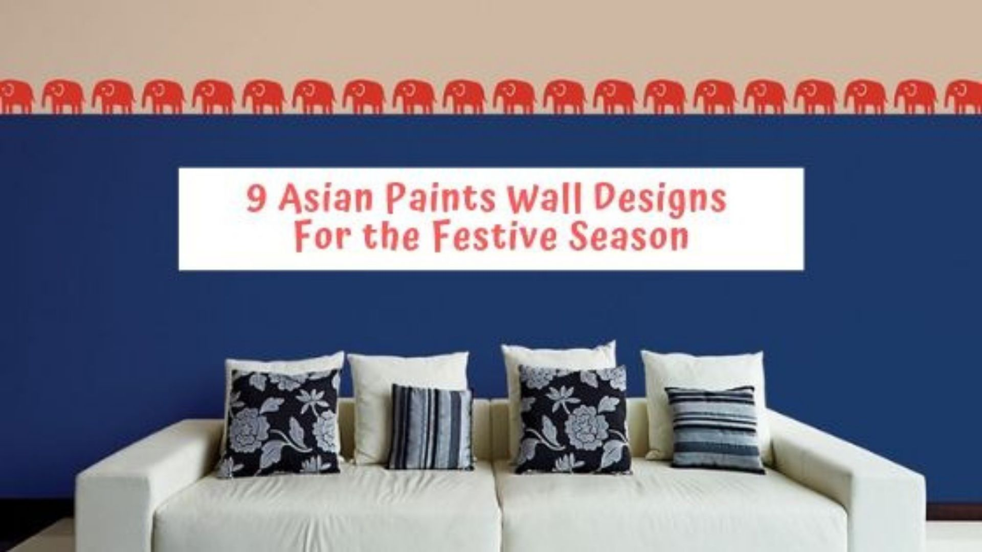 Image of: Which Asian Paints Wall Design Will You Pick This Festive Season The Urban Guide