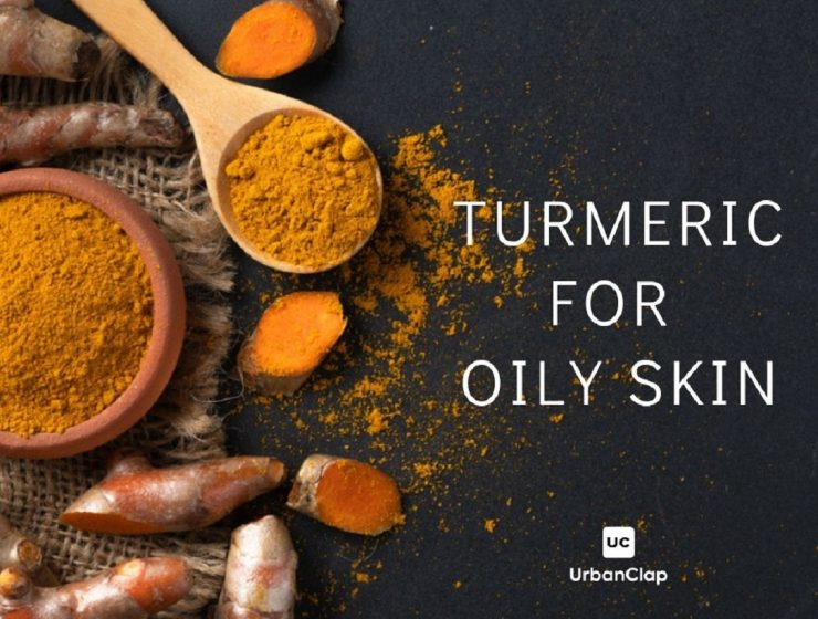 Turmeric for oily skin
