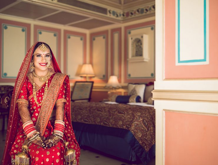 brides who stunned in sarees