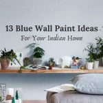 blue wall paint