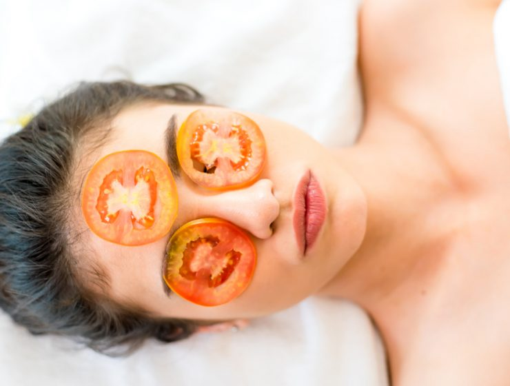 tomato for face pack