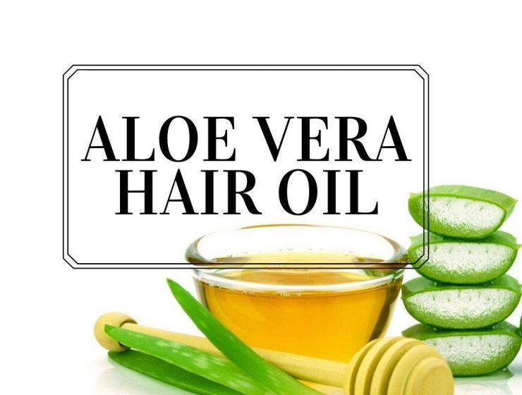 aloe vera hair oil